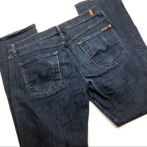 7 For All Mankind Carsen Easy Straight Jean